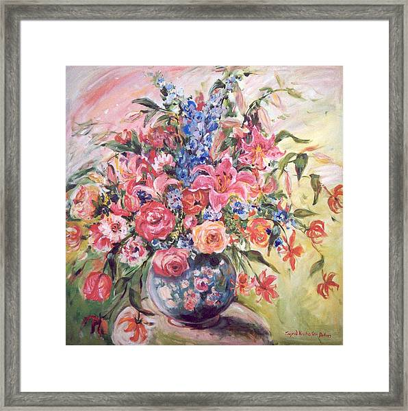Floral Arrangement No. 2 Framed Print