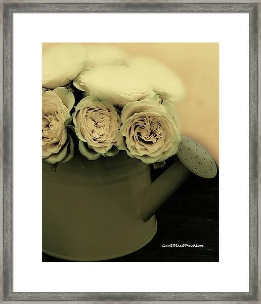 Floral Art 38 Framed Print