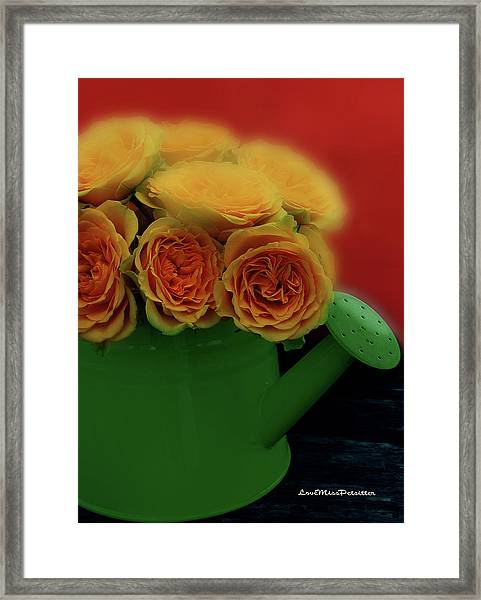 Floral Art 5 Framed Print