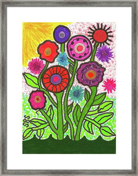 Floral Majesty Framed Print