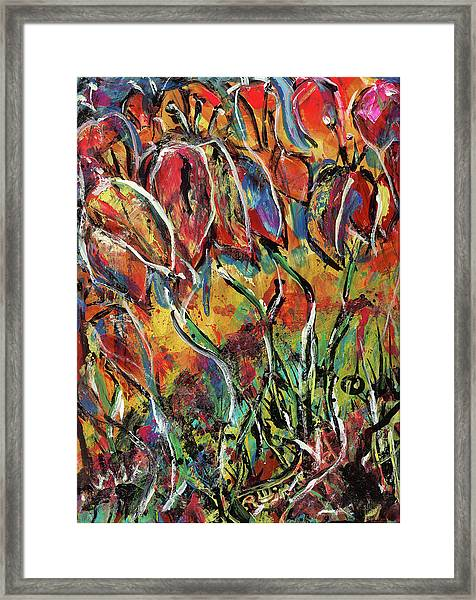 Floral Sensation Framed Print