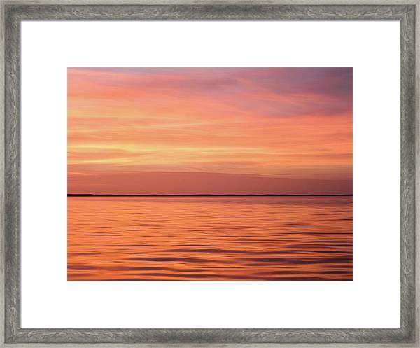 Florida Keys Sunset Impressions Framed Print