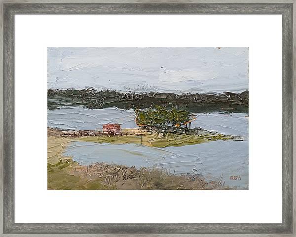Florida Lake II Framed Print