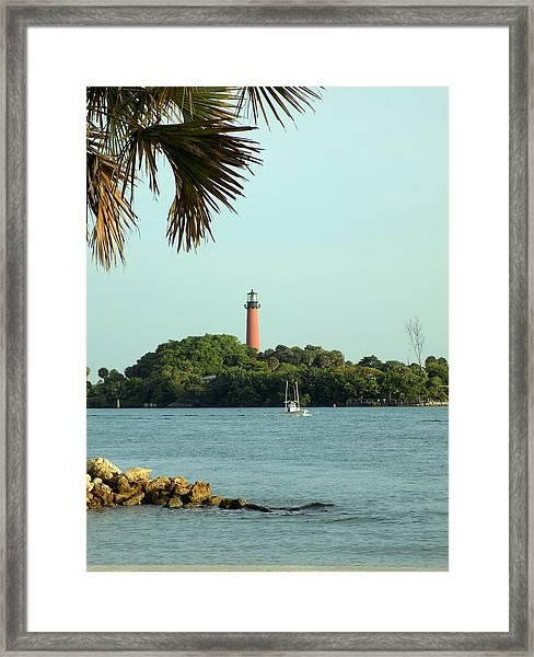 Florida Lighthouse 3 Framed Print