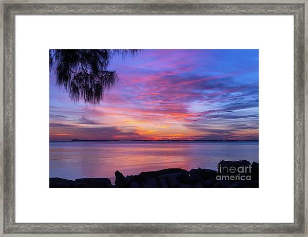 Florida Sunset #2 Framed Print