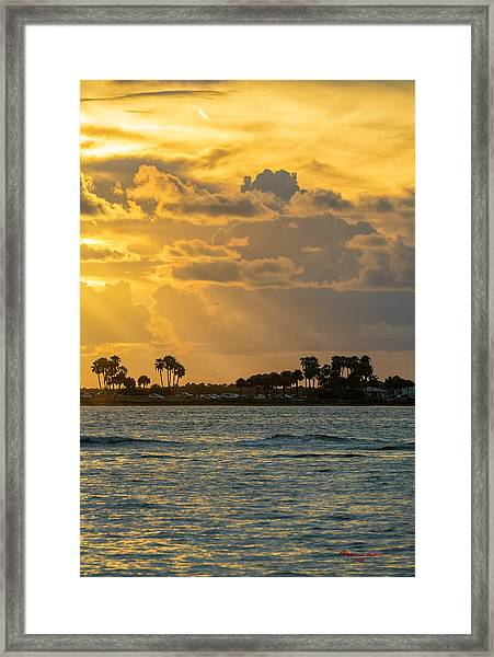 Florida Sunset-3 Framed Print