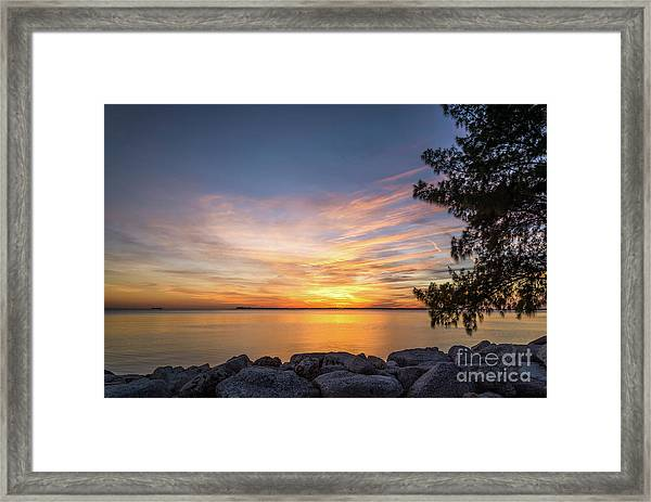 Florida Sunset #3 Framed Print