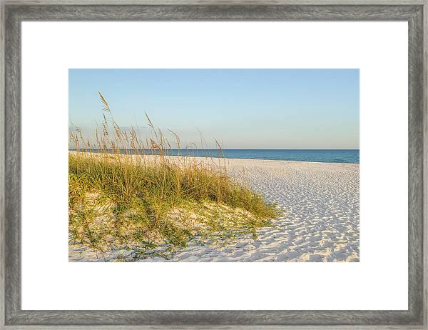 Destin, Florida's Gulf Coast Is Magnificent Framed Print