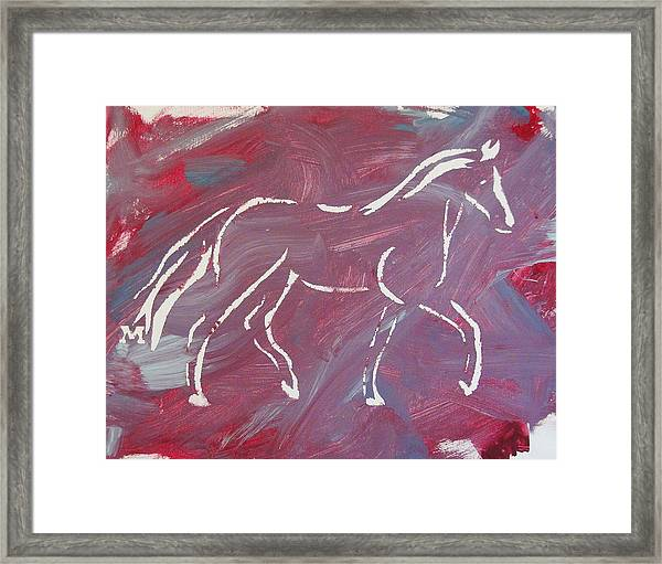 Framed Print featuring the painting Flow by Candace Shrope