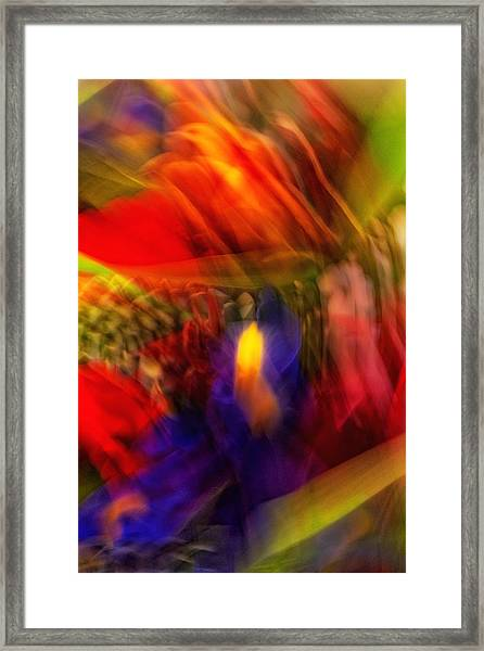 Flower Bouquet Twist Framed Print