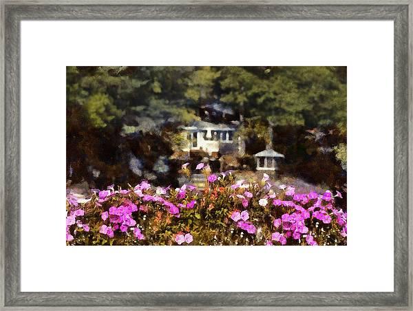 Flower Box Framed Print