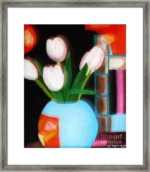 Flower Decor Framed Print