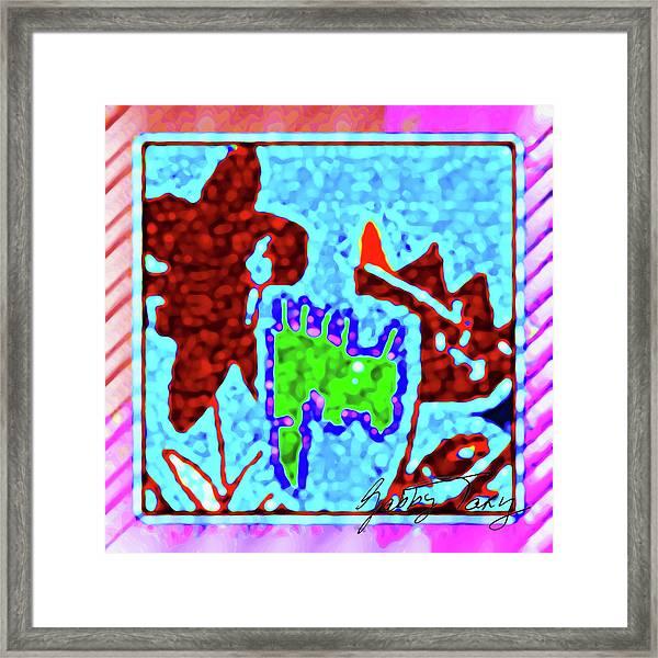 Flower Design #3 Framed Print
