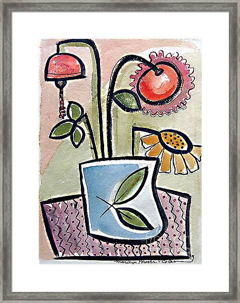 Flower Jug Framed Print