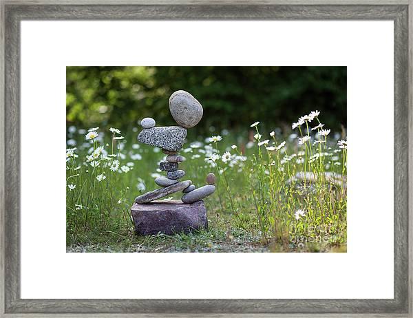 Flower Of Love. Framed Print