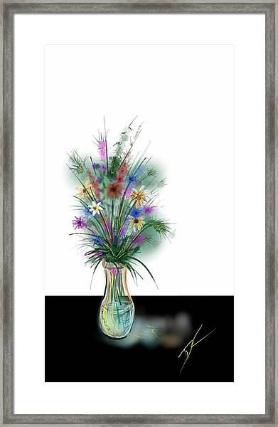 Flower Study One Framed Print