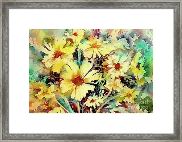 Flowers Are The Sweetest Things Framed Print