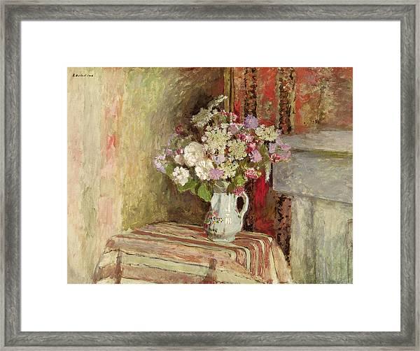 Flowers In A Vase Framed Print