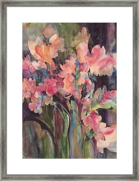 Flowers Of Summer Framed Print