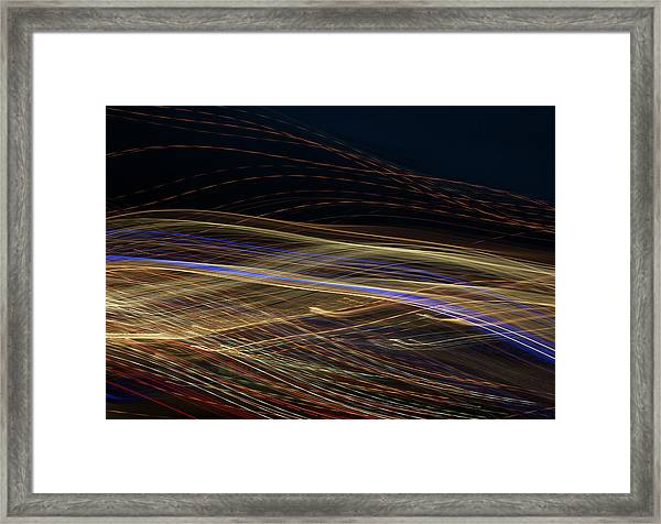 Framed Print featuring the photograph Flowing by Michael Lucarelli