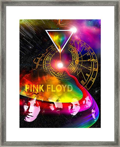 Floyd Time Framed Print