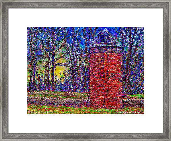 Floyd,virginia Tower Framed Print