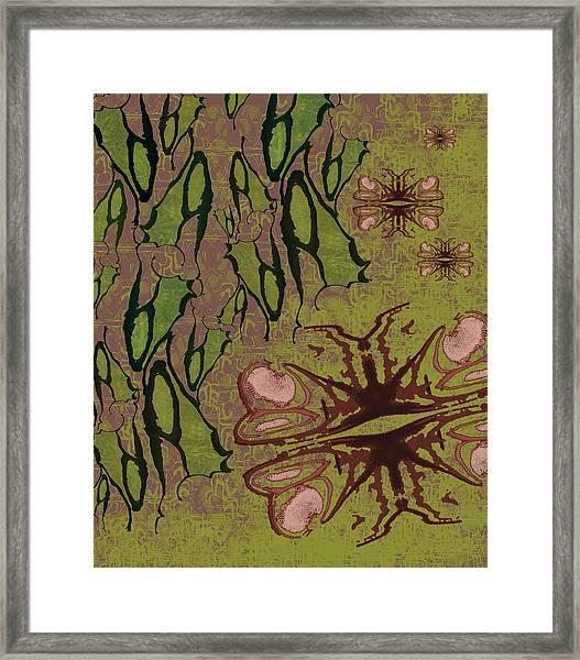 Flutter By Pods Framed Print