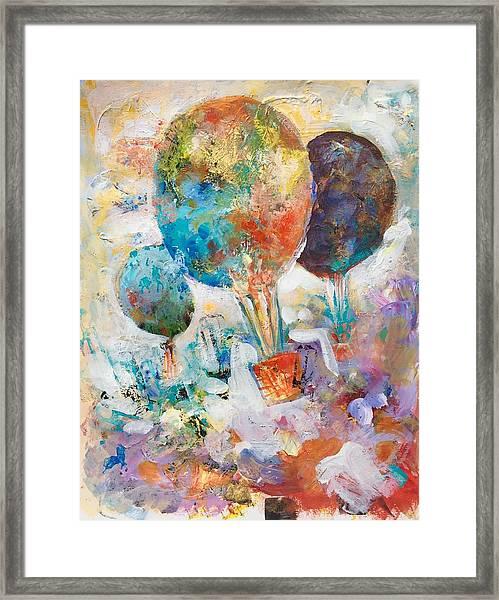 Fly Away To Creativity Framed Print