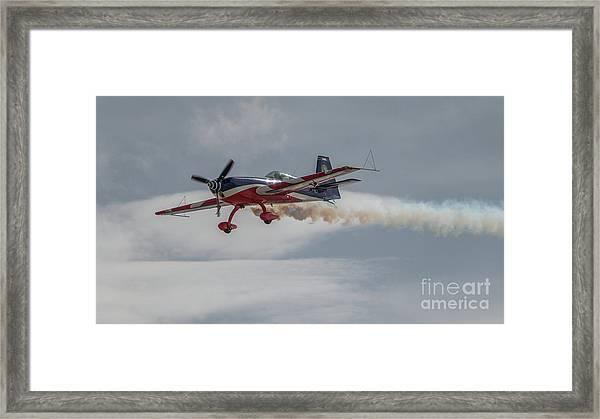 Flying Acrobatic Plane Framed Print