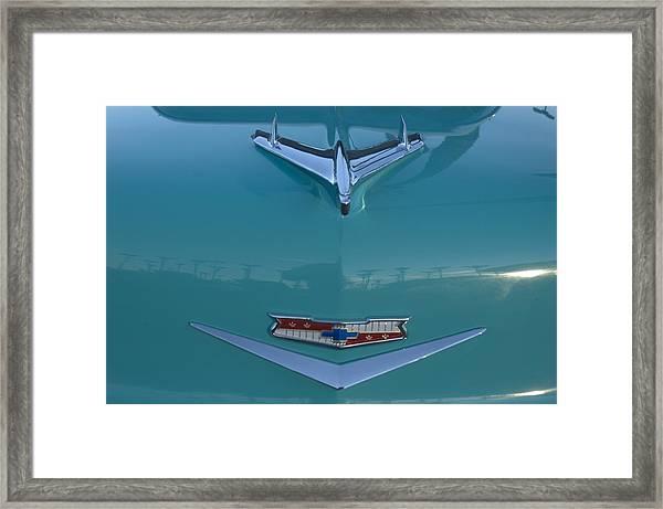 Flying Chevy Framed Print