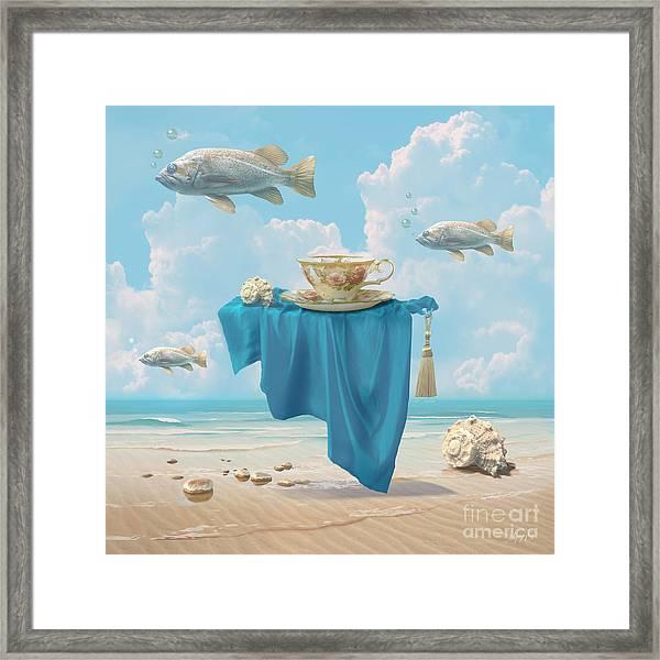 Flying Fish Framed Print