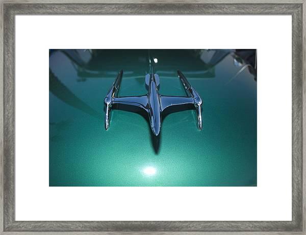 Flying Hood Ornament Framed Print