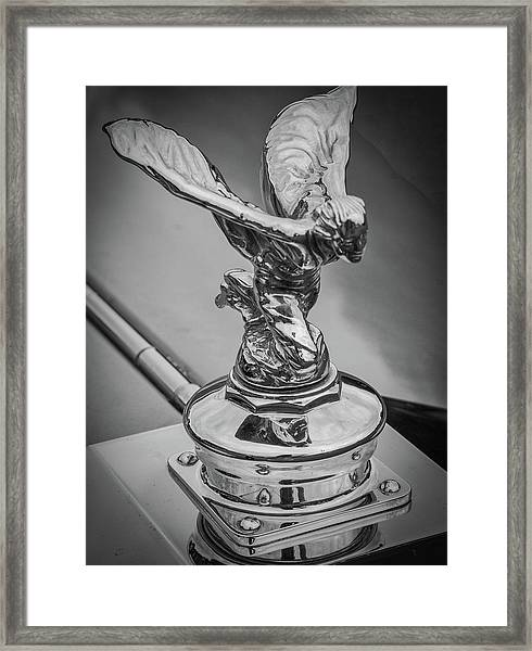 Framed Print featuring the photograph Flying Lady by Samuel M Purvis III