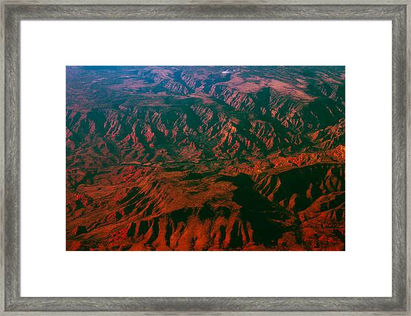 Flying West Framed Print