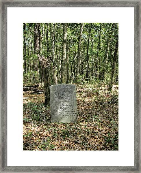 Fm Weston Framed Print