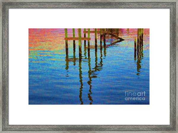 Focus On The Water Framed Print