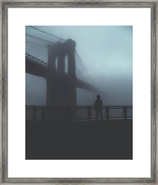 Fog Life  Framed Print