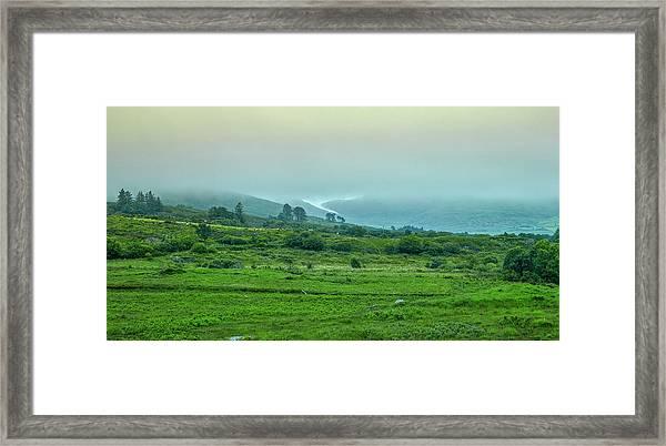 Foggy Day #g0 Framed Print