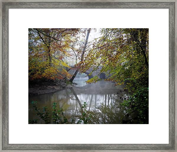 Foggy Jemison Park Framed Print
