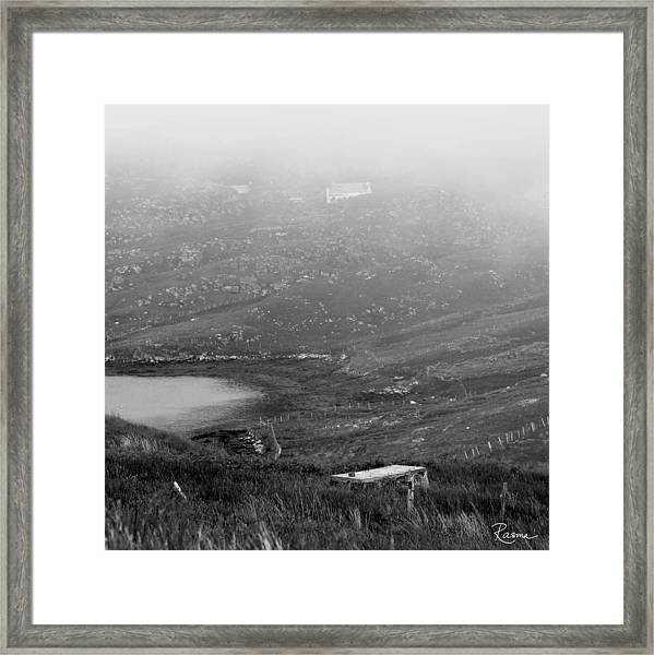 Foggy Scottish Morning Framed Print
