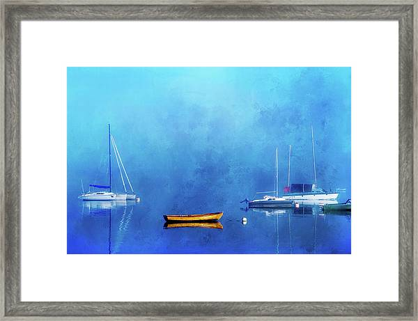 Upon The Still Waters Framed Print