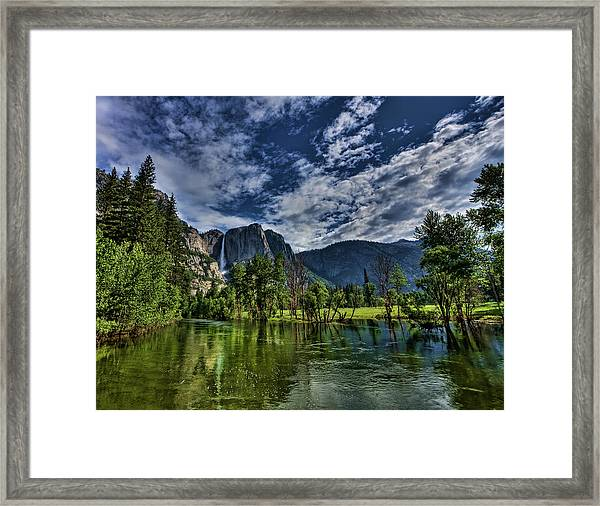 Follow The River Framed Print