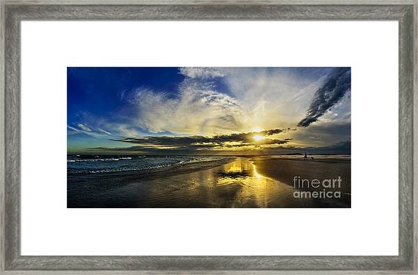 Framed Print featuring the photograph Follow The Sun by DJA Images