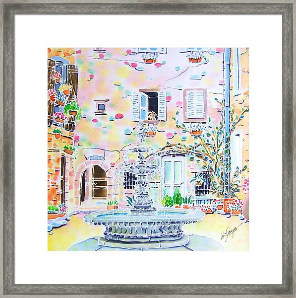 Fontaine Framed Print