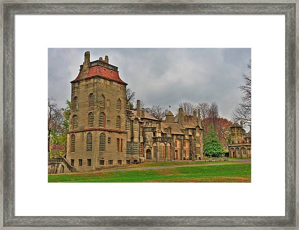 Framed Print featuring the photograph Fonthill Castle by William Jobes