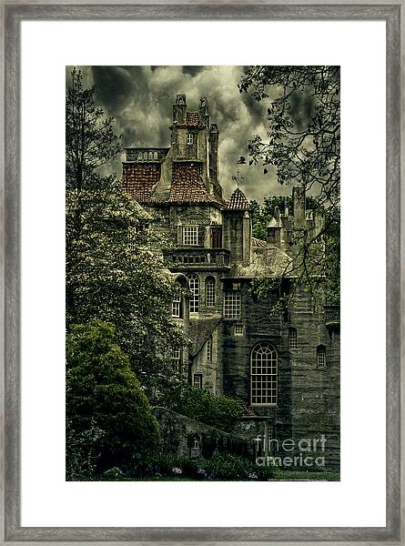 Fonthill With Storm Clouds Framed Print