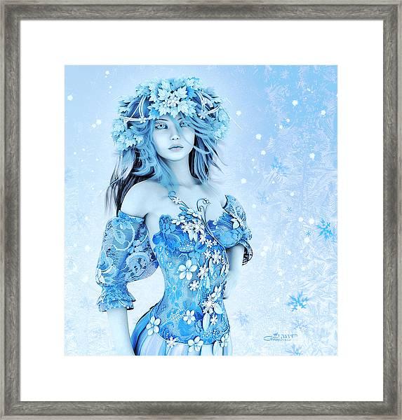 For All Winter Friends Framed Print