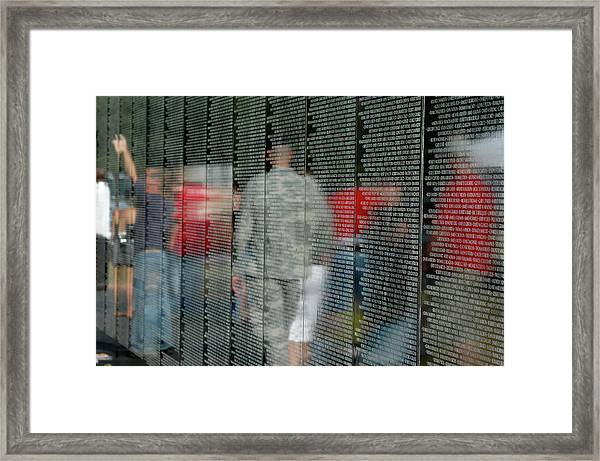 For My Country Framed Print