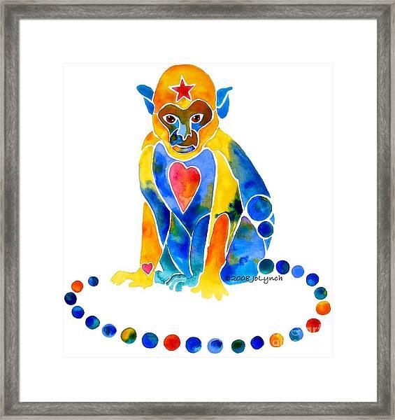 For Our Little Monkey Framed Print