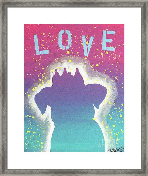 For The Love Of Pups Framed Print